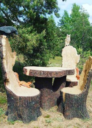 Изготовления из дерева