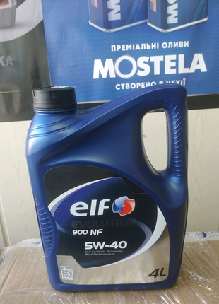 Масло Elf evolution 900 nf 5w-40