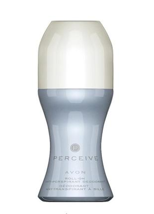 Шариковый дезодорант-антиперспирант avon perceive