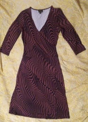 ☃️ акция 🔥 1+1=3 красивое вискозное платье миди