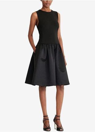 Коктейльне плаття міді lauren ralph lauren