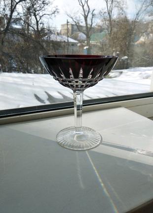 Цветной хрусталь бокал фужер для мартини