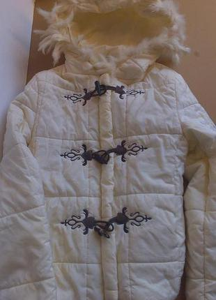 Куртка на синтепоне с кроликом