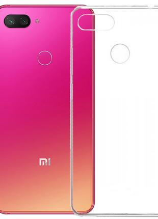 Xiaomi Mi 8 Lite прозрачный чехол
