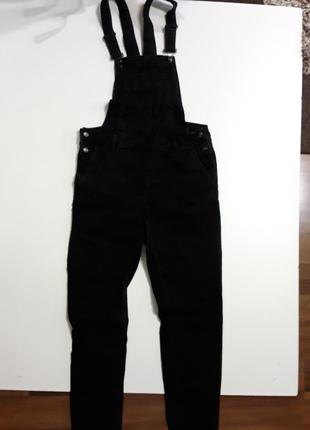 Фирменные джинсы комбинезон