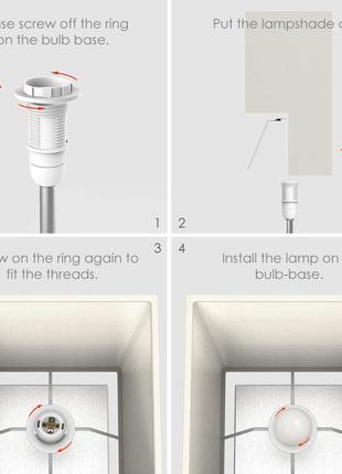 Лампа для спальні teckin dl22 приліжкова лампа