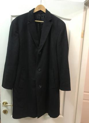 Кашемировое мужское пальто rene lezard