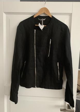 Льняная мужская куртка zara