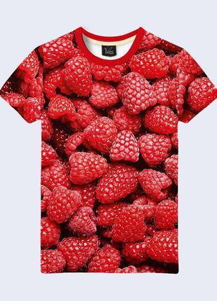 Футболка с принтом ягоды