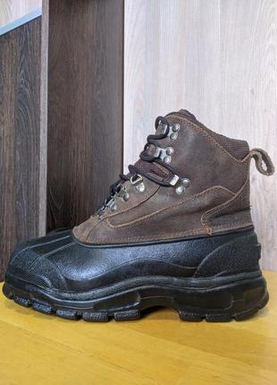Ботинки кожаные зимние north pass