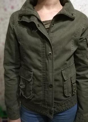 Жакет, куртка в стиле милитари