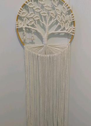 Макраме, дерево жизни, ловец снов