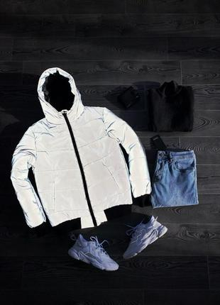 Мужская рефлективная куртка