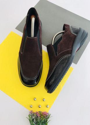 Замшевые туфли medicus
