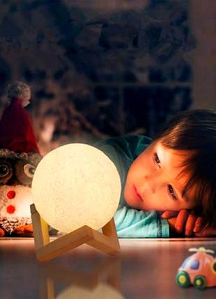 3D Moonlight ночник-луна