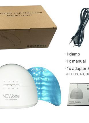 Newone 48 Вт УФ светодиодные лампы ногтей сушилка для всех типов