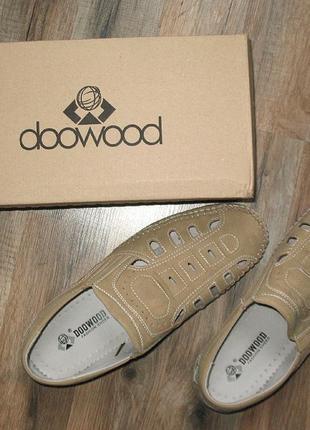 Мужские летние туфли, мокасины
