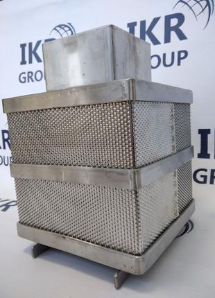 Форма для сыра из нержавеющей стали, квадратная 3-4 кг/ Форми сир