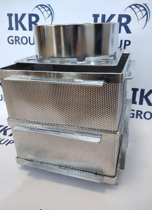 Форма для сыра из нержавеющей стали, квадратная 6-8 кг