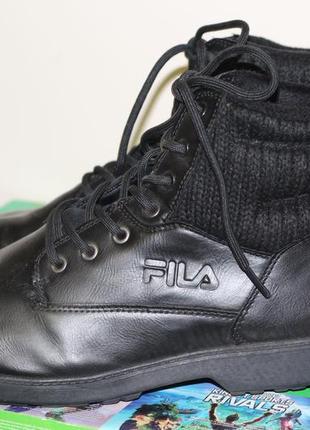 Утепленные ботинки fila 44-45