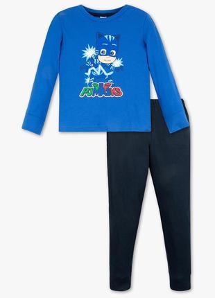 Фирменная хлопковая пижама pj masks