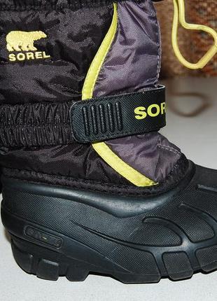 Sorel зимние сноутбутсы 24 размер