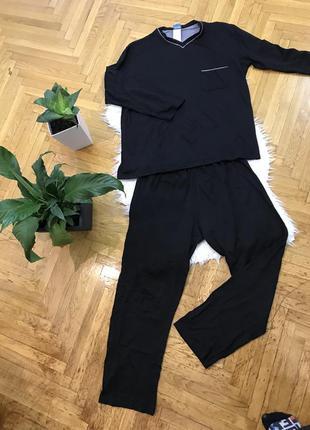 Royal class люкс бренд мужская пижама натуральная
