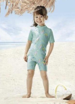 Купальный костюм на девочку lupilu 110-116 98-104