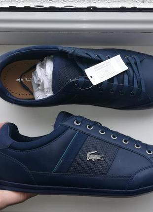 45 lacoste chaumon 118 1 оригинальные кроссовки