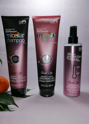 Унікальний комплекс активних компонентів для укріплення волосся