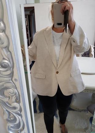 Шыкарный стильный пиджак жакет lands'end