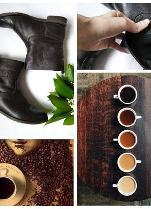 Женские кожаные ботинки большой размер сапоги челси carlo pazo...