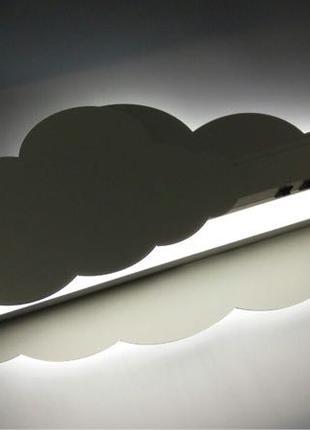 Детский Светильник, полка, облако