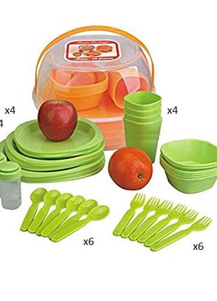 Столовый набор для пикника Bita 36 предметов