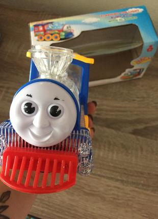 Музыкальный поезд паровоз музыкальная игрушка