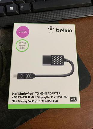 Адаптер Belkin Mini Display Port to HDMI (F2CD079bt)