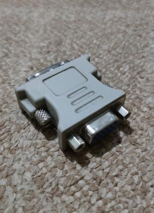 Переходник DVI-A - VGA