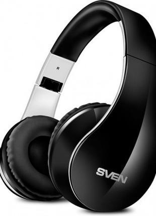 Наушники беспроводные c микрофоном SVEN AP-B450MV, black-white
