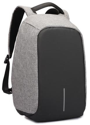 Рюкзак для ноутбука городской, спортивный бобби антивор с usb ...