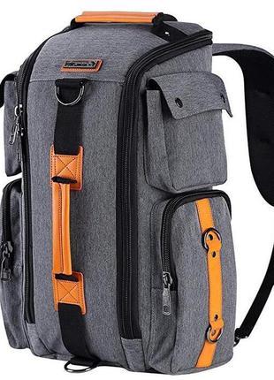 Культовый городской рюкзак  трансформер witzman сумка рюкзак д...