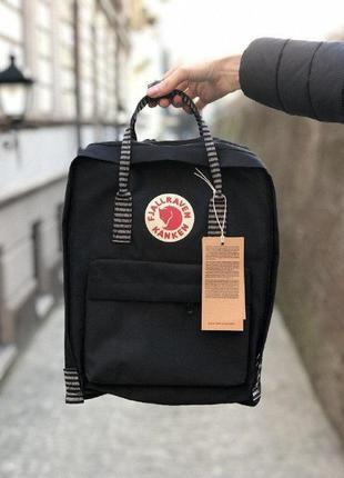 Рюкзак fjallraven kanken 16л classic черный сумка портфель кан...