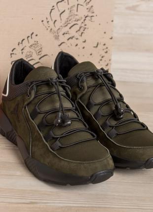 Мужские кожаные кроссовки Jordan Olive(40-45р)