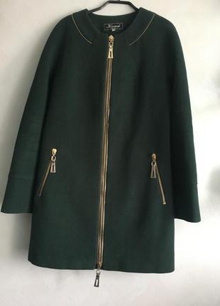 Кашемировое пальто осень/весна
