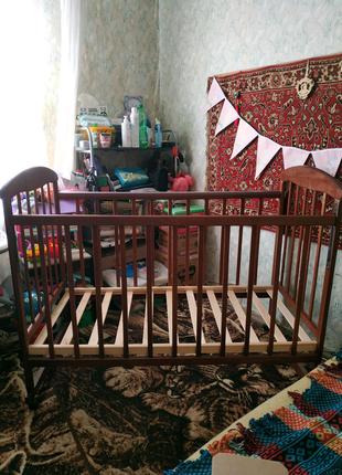 Кроватка детская 120*60
