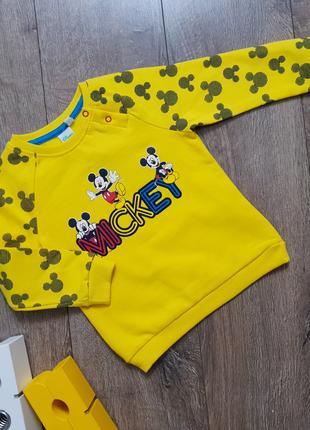 Утепленный красивый свитшот Mickey