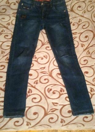 Сині стильні джинси чоловічі