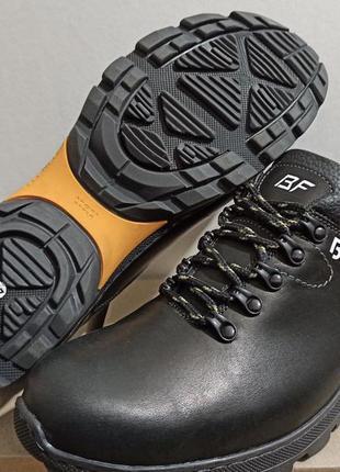 Bf мужские кожаные спортивные туфли большого размера кроссовки
