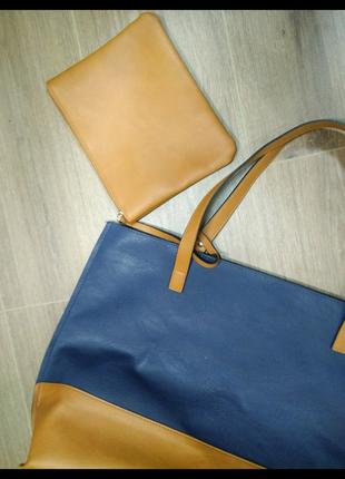 Сумка сумочка с кошельком( маленькой сумочкой)