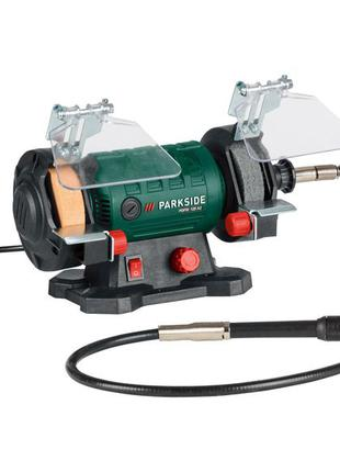 Двухкамерный шлифовальный станок с гибким валом Parkside PDFW 120