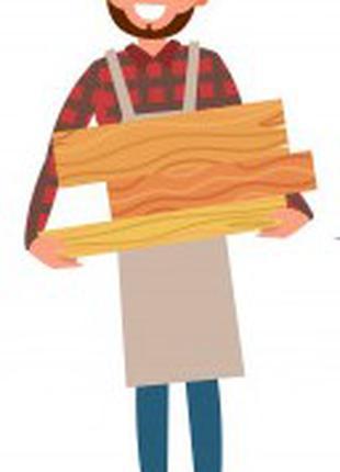 Услуга по обработке древесины, аренда оборудования